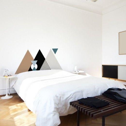 t te de lit et s 39 il suffisait de la peindre h ll blogzine. Black Bedroom Furniture Sets. Home Design Ideas
