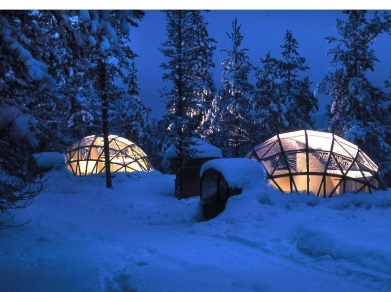 igloos et aurores bor ales en finlande h ll blogzine. Black Bedroom Furniture Sets. Home Design Ideas
