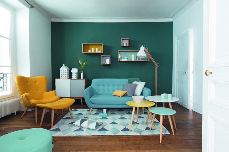 Le style scandinave s 39 invite chez maisons du monde h ll for Deco salon style scandinave