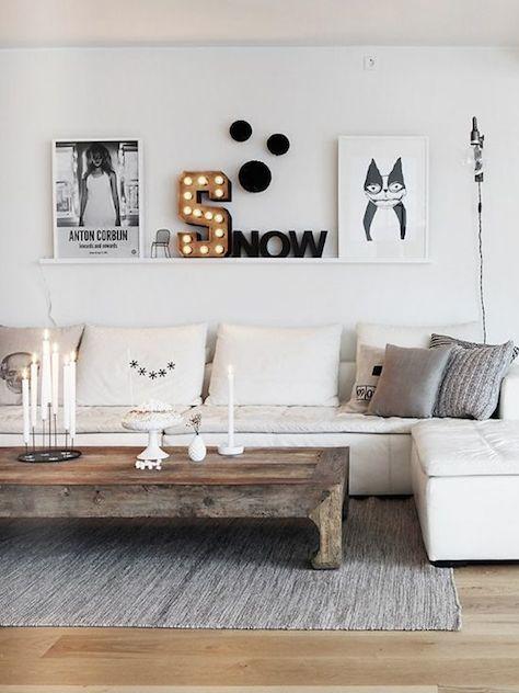 Comment Donner Un Look Scandinave Votre Salon H Ll