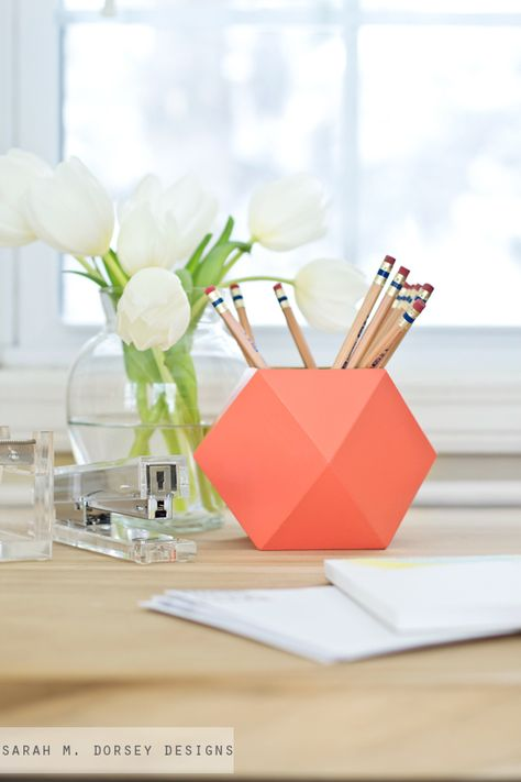 pot crayon origami h ll blogzine. Black Bedroom Furniture Sets. Home Design Ideas