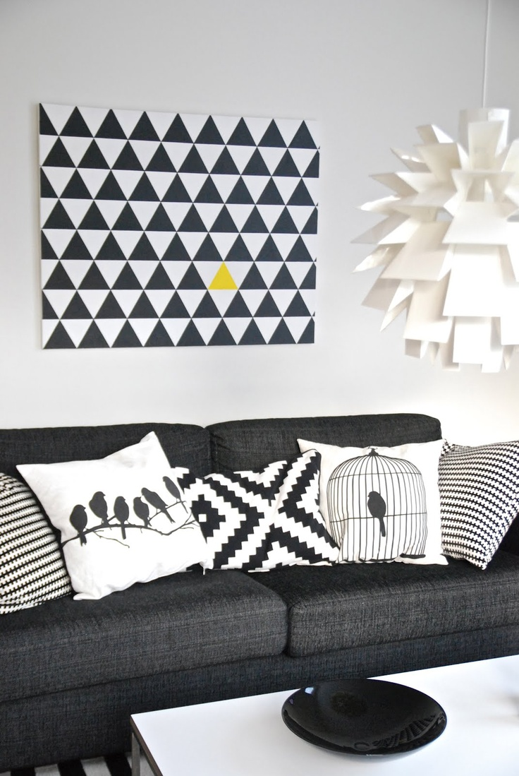 tableau g om trique triangles h ll blogzine. Black Bedroom Furniture Sets. Home Design Ideas