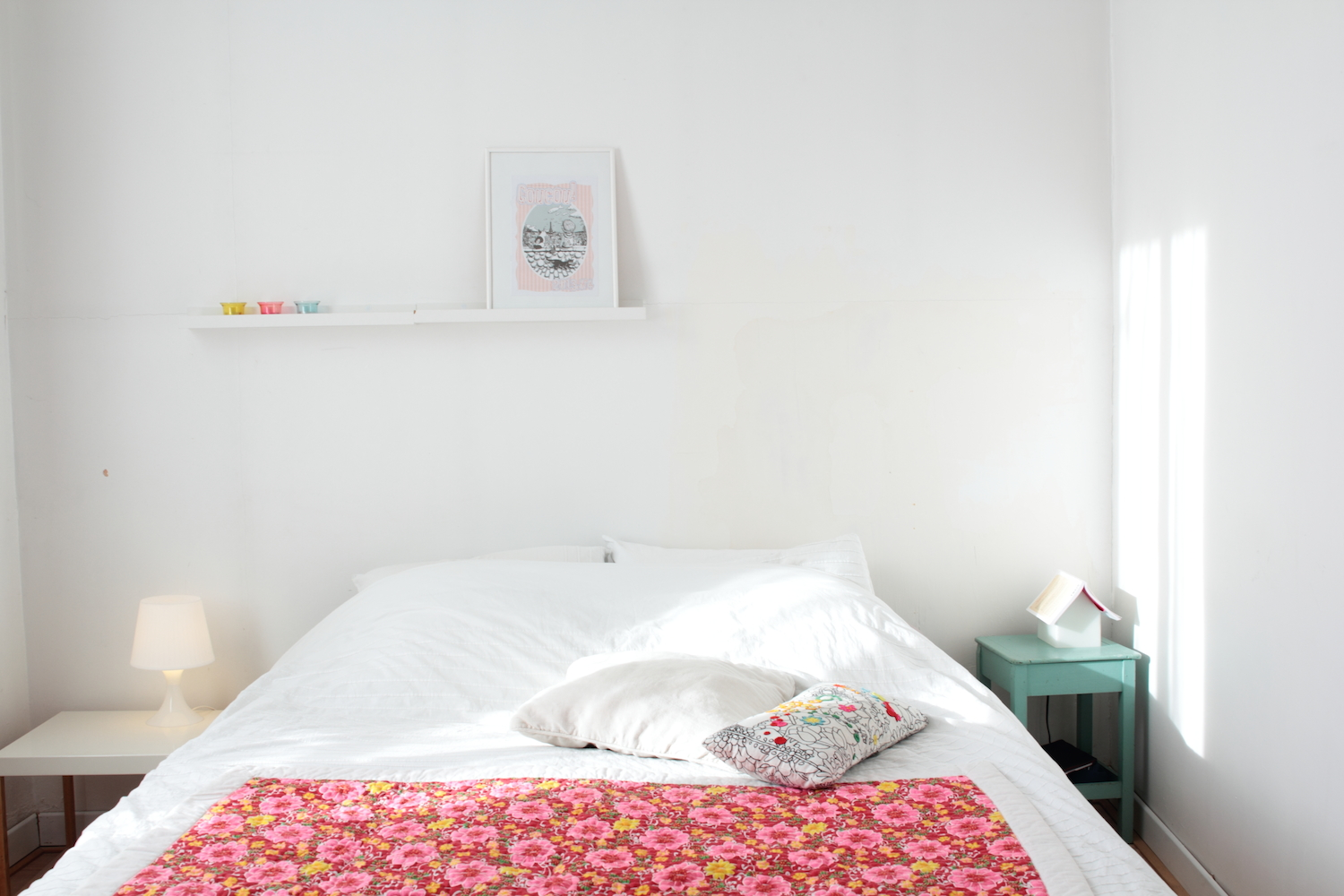 Chambre scandinave pastel for Chambre scandinave pastel