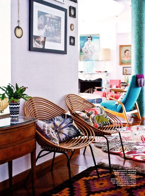 inspiration deco boheme chic fauteuil rotin 2 h ll blogzine. Black Bedroom Furniture Sets. Home Design Ideas