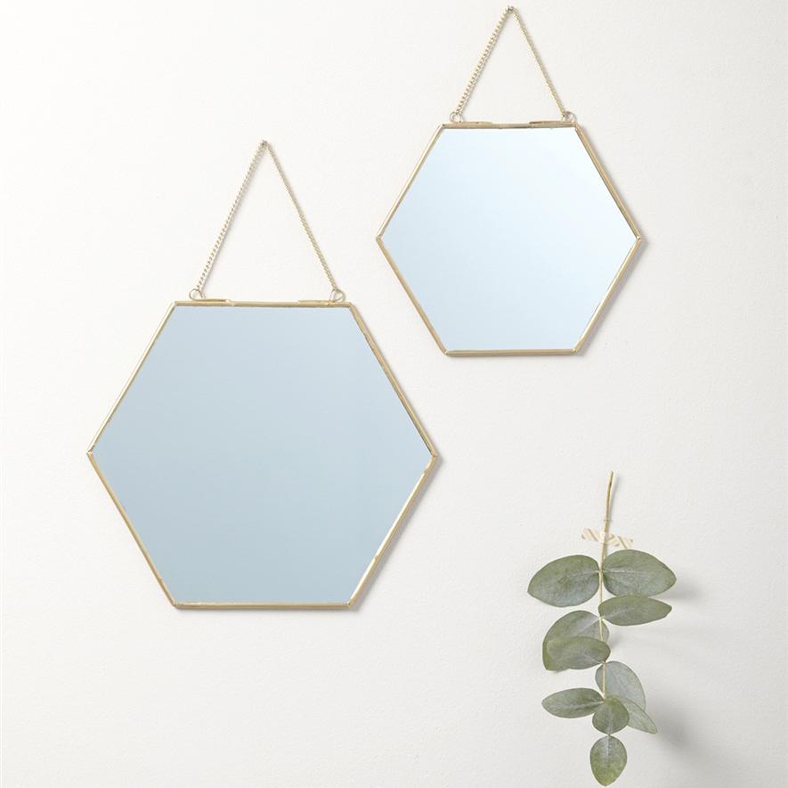 O trouver de jolis miroirs en laiton et m tal dor - Trouver du cuivre facilement ...