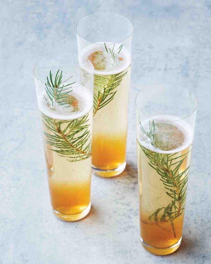 10 recettes de cocktails pour trinquer pendant les f tes for Cocktail au champagne