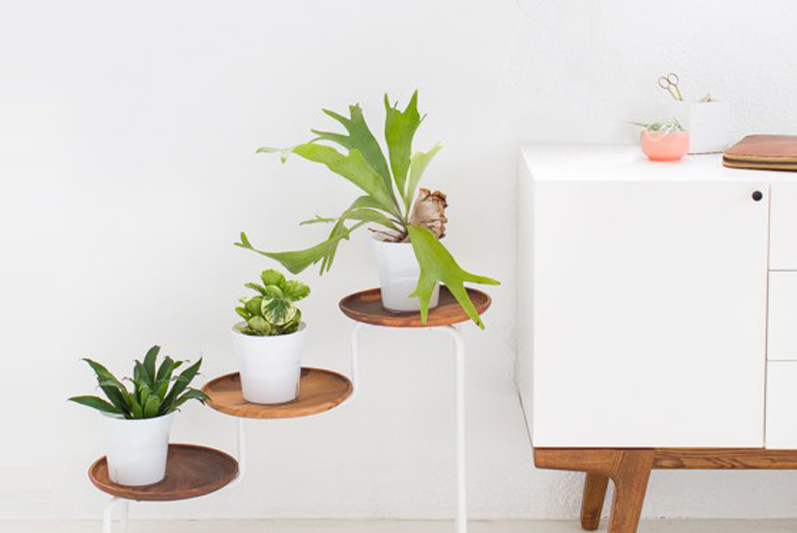 10 ikea hacks pour un int rieur trendy for Meuble porte plante ikea