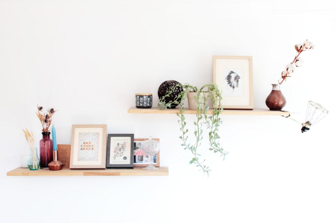 18 mani res de d corer un mur blanc h ll blogzine - Comment decorer un grand mur ...