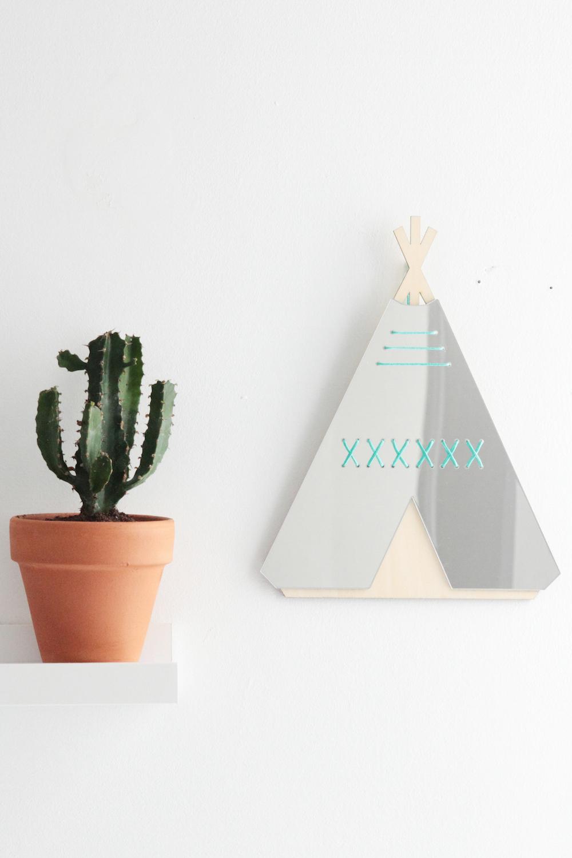 miroir teepee les petites d coupes h ll blogzine blog deco lifestyle. Black Bedroom Furniture Sets. Home Design Ideas