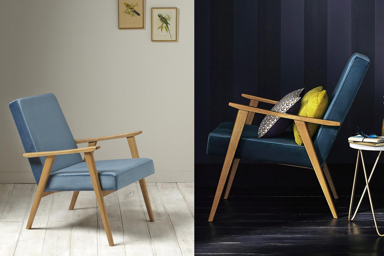 Velvet armchair // Hëllø Blogzine blog deco & lifestyle www.hello-hello.fr
