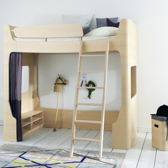 quand la chambre des kids devient un v ritable terrain de jeu h ll blogzine. Black Bedroom Furniture Sets. Home Design Ideas