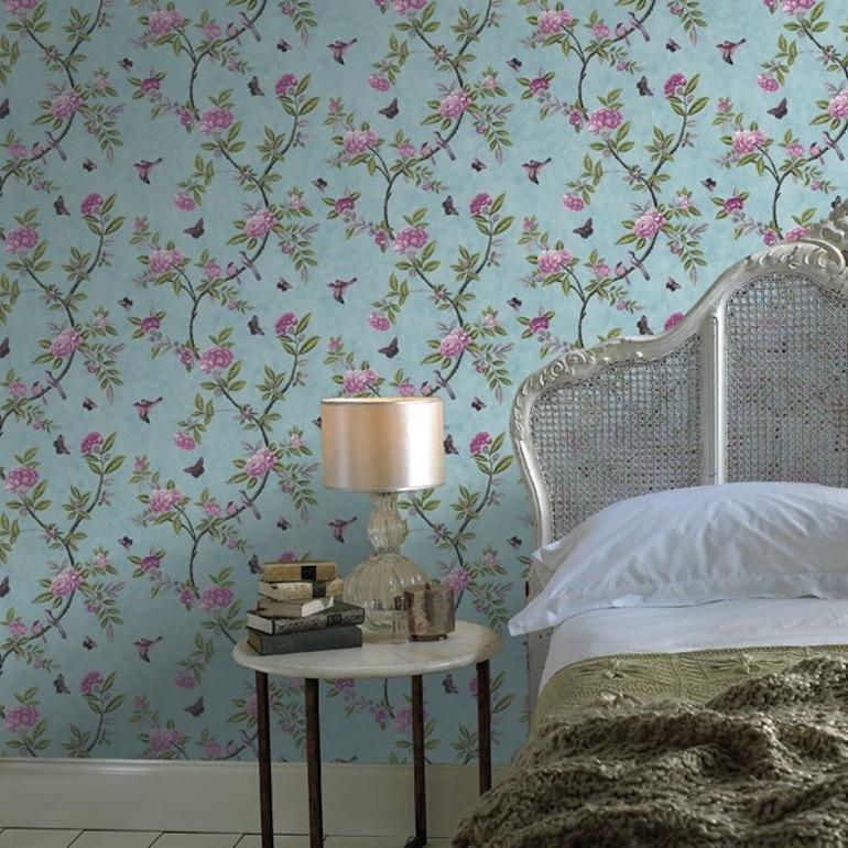 o trouver du papier peint floral h ll blogzine. Black Bedroom Furniture Sets. Home Design Ideas