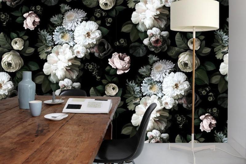o u00f9 trouver du papier peint floral