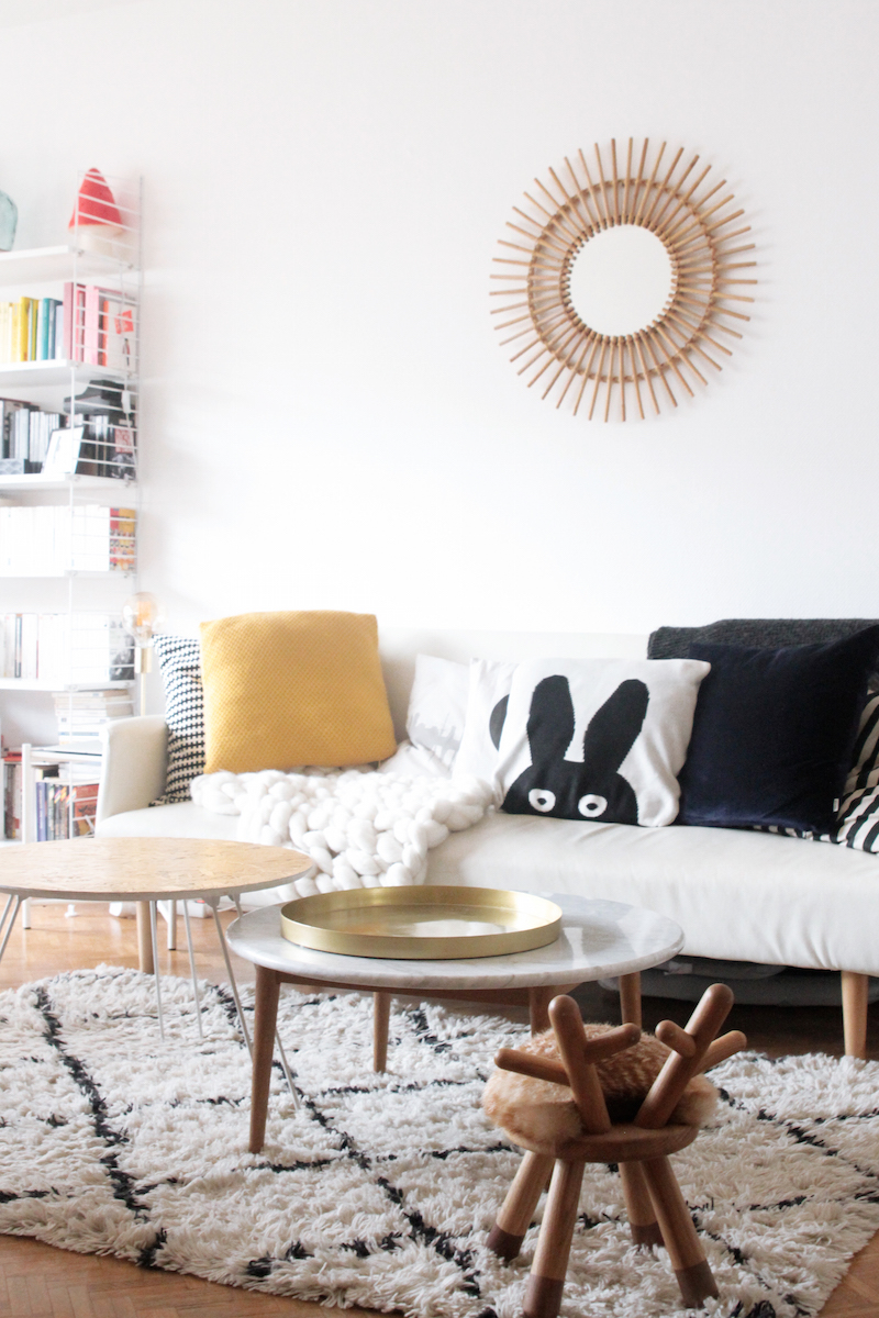 Int rieur parisien d co scandi de la blogueuse azzed for Interieur scandinave