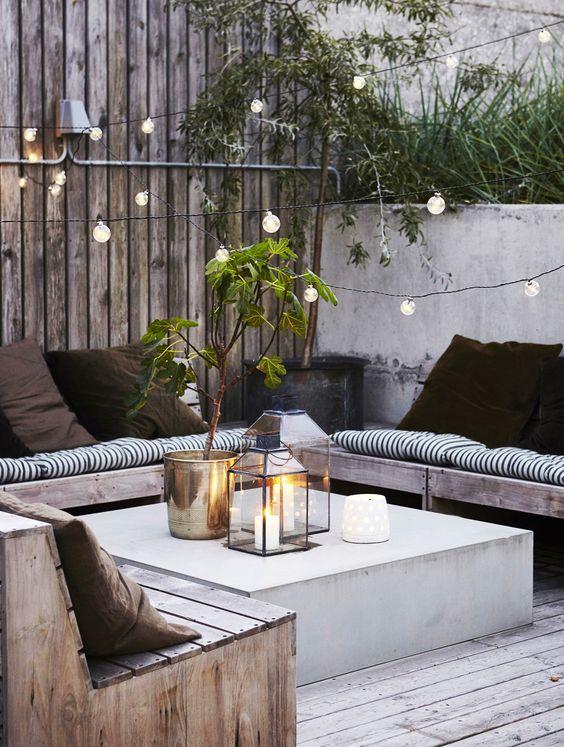 comment am nager on jardin sa terrasse ou son balcon avec style. Black Bedroom Furniture Sets. Home Design Ideas