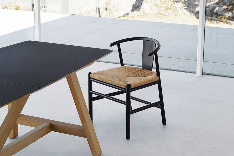 la chaise au design minimaliste scandinave kirsti de am pm. Black Bedroom Furniture Sets. Home Design Ideas