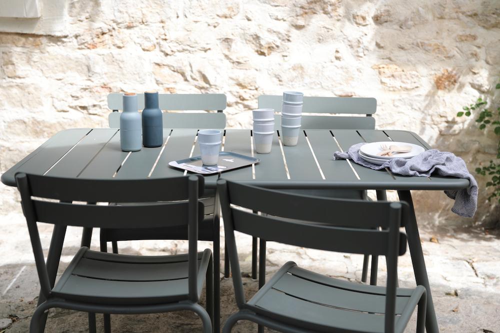 Inspirations et conseils d co pour un int rieur tendance et styl for Table luxembourg fermob
