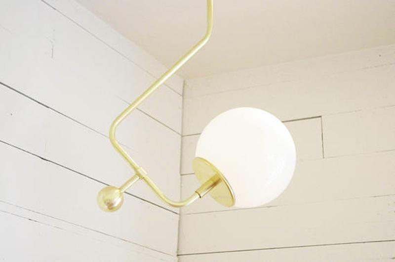 o trouver des lampes avec un globe en forme de boule. Black Bedroom Furniture Sets. Home Design Ideas