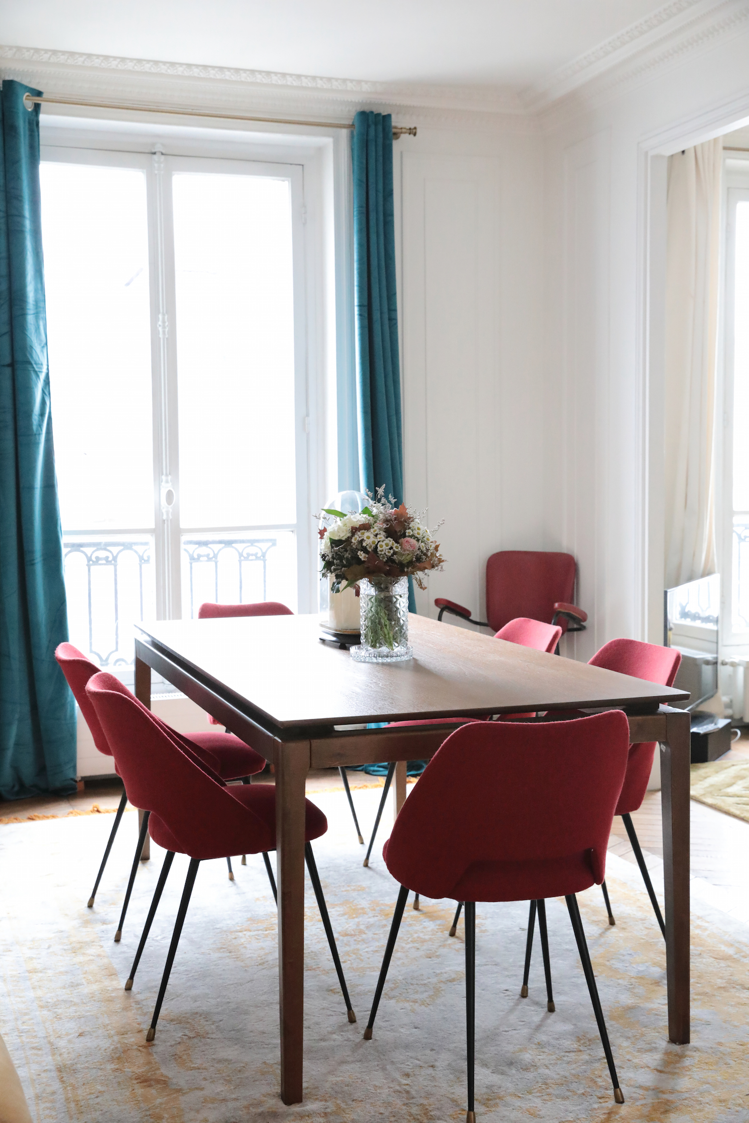 Bienvenue dans l 39 appartement glamour de camille omerin de for Appartement maison fr