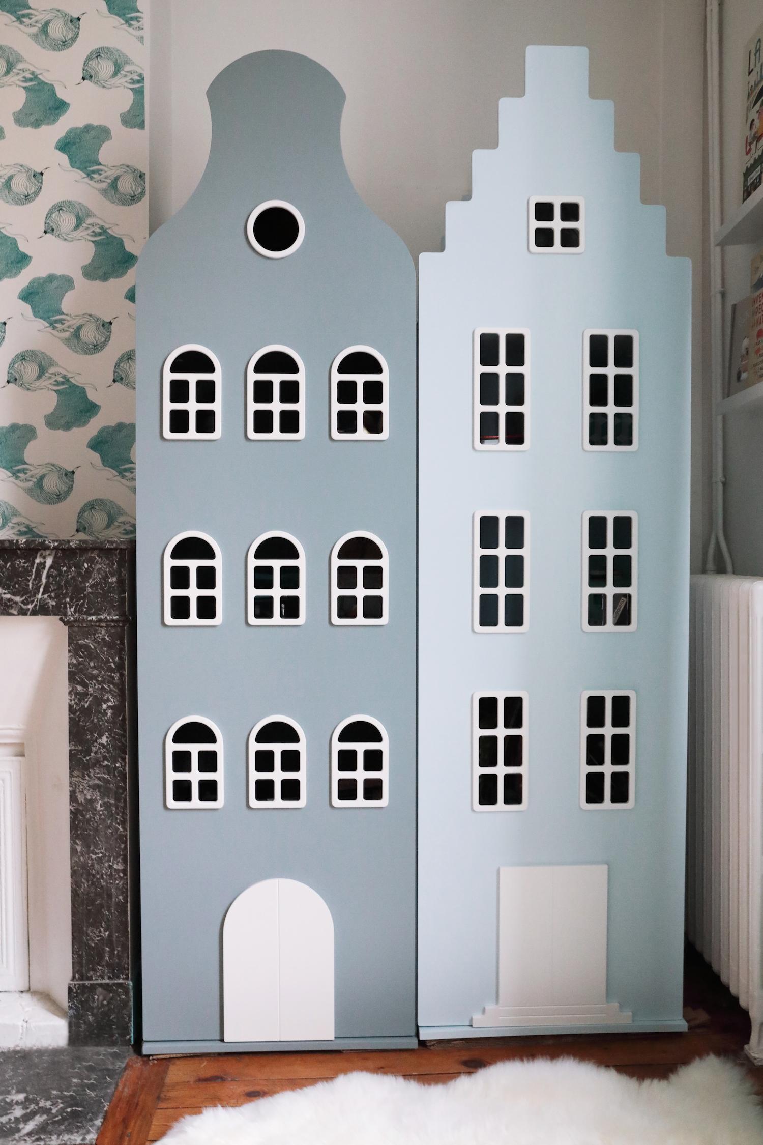 Les armoires qui imitent les maisons hollandaises de kast for Decoration maison hollandaise
