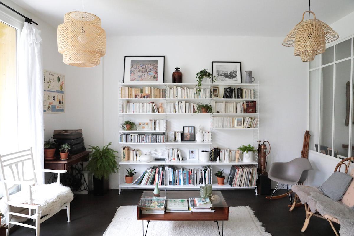 Une d co scandinave et vintage dans un loft parisien for Loft a renover region parisienne